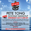 Pete Tong presents All Gone To Sea Google Hangout