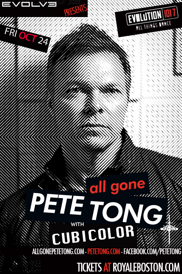 Pete Tong Fri oct 24