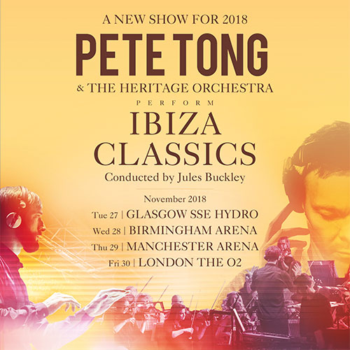Pete tong ibiza classics hydro 27th november 2018 happy bus for Ibiza house classics